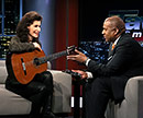 Sharon Isbin and Tavis Smiley
